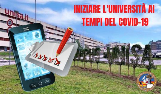 Iniziare l'Università ai tempi del Covid-19