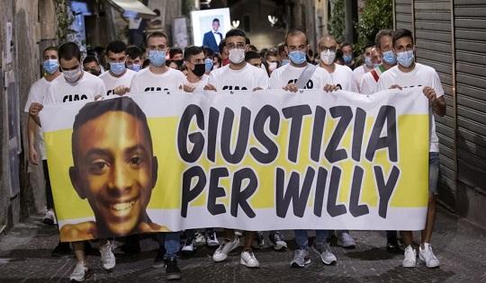Willy Montiero: vittima di una società complice