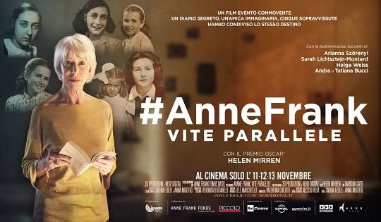 #AnneFrank: vite parallele