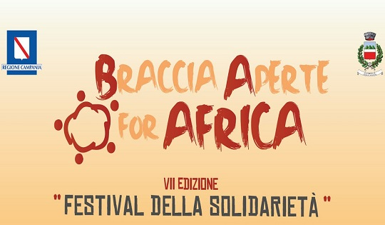 """Angri: al via l'8 giugno il Festival della Solidarietà dal tema """"Braccia aperte for Africa"""""""
