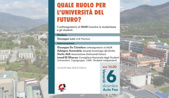 Quale ruolo per l'Università del futuro?