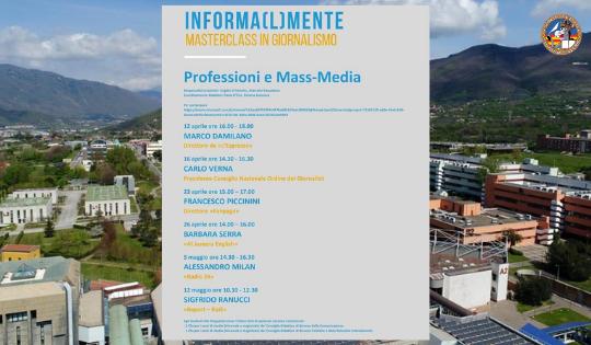 Informa(l)mente: il giornalismo italiano arriva all'Unisa