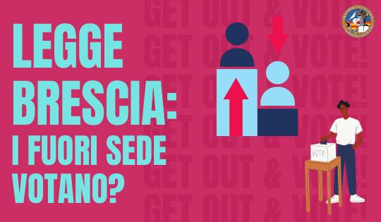 Legge Brescia: i fuori sede votano senza tornare a casa