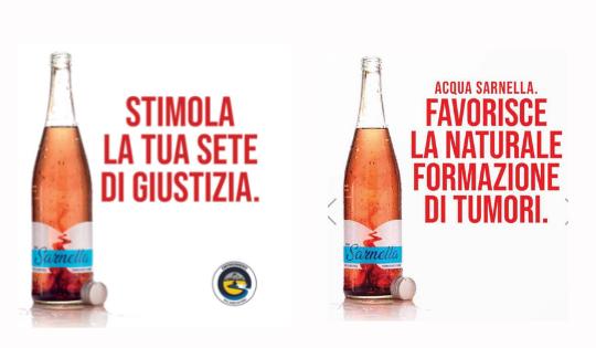 Sarnella: l'acqua che uccide